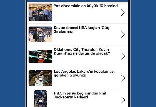 NBA Türkiye Ekran Görüntüleri - 3