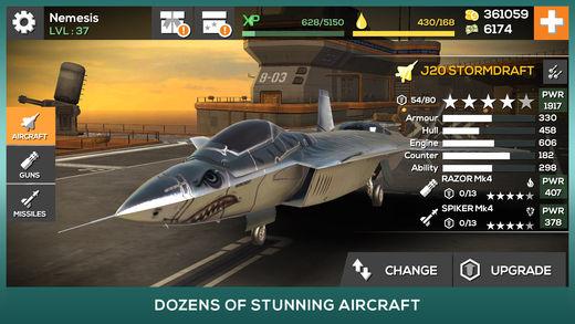 Nemesis: Air Combat Ekran Görüntüleri - 3