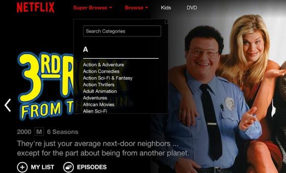 Netflix Super Browse Ekran Görüntüleri - 2