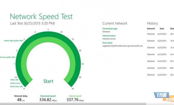 Network Speed Test Ekran Görüntüleri - 3