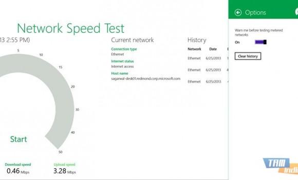 Network Speed Test Ekran Görüntüleri - 1