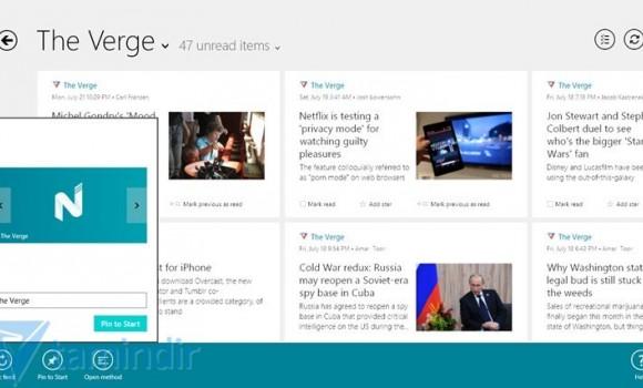 Nextgen Reader Ekran Görüntüleri - 2