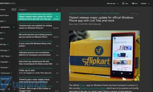 Nextgen Reader Ekran Görüntüleri - 1