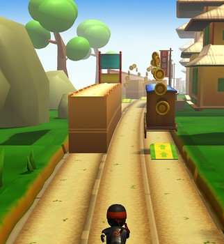 Ninja Runner 3D Ekran Görüntüleri - 4