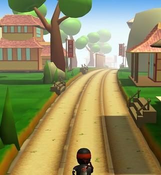 Ninja Runner 3D Ekran Görüntüleri - 2