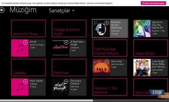 Nokia Müzik Ekran Görüntüleri - 1