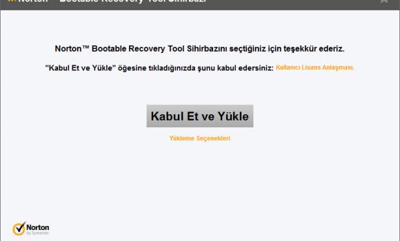 Norton Bootable Recovery Tool Ekran Görüntüleri - 3