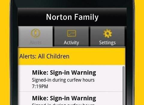 Norton Family Ekran Görüntüleri - 2
