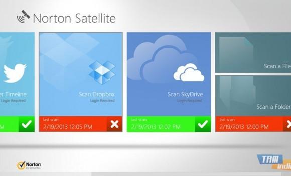 Norton Satellite Ekran Görüntüleri - 2