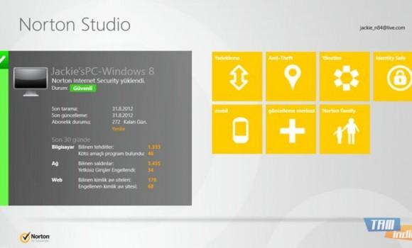 Norton Studio Ekran Görüntüleri - 1