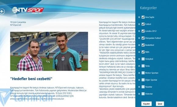 NTVSpor Ekran Görüntüleri - 1