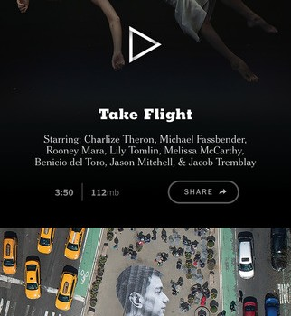 NYT VR Ekran Görüntüleri - 4