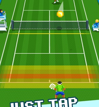 One Tap Tennis Ekran Görüntüleri - 5
