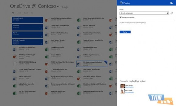 OneDrive İş Ekran Görüntüleri - 2
