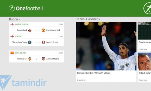 Onefootball Ekran Görüntüleri - 3
