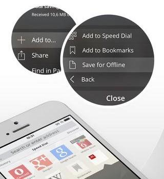 Opera Mini Ekran Görüntüleri - 1