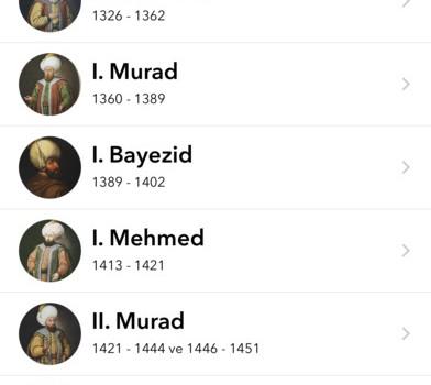 Osmanlı İmparatorluğu Tarihi Ekran Görüntüleri - 4