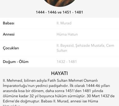 Osmanlı İmparatorluğu Tarihi Ekran Görüntüleri - 3