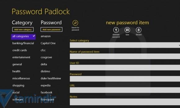 Password Padlock Ekran Görüntüleri - 1