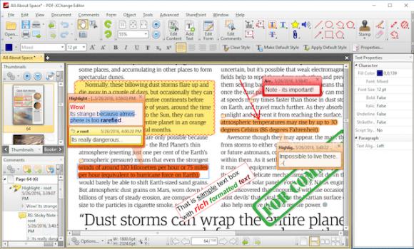 PDF-XChange Editor Ekran Görüntüleri - 2