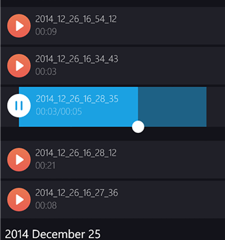 Perfect Recorder Ekran Görüntüleri - 1