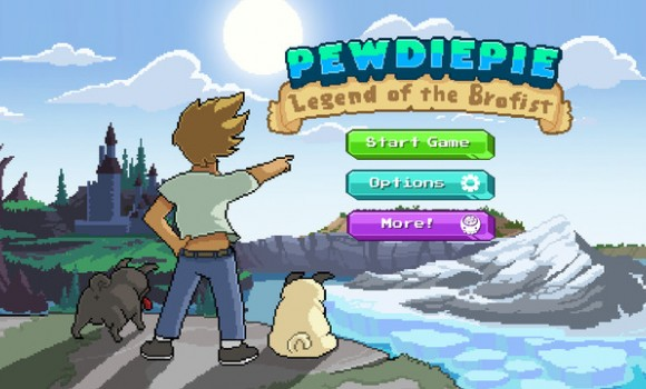 PewDiePie: Legend of Brofist Ekran Görüntüleri - 1