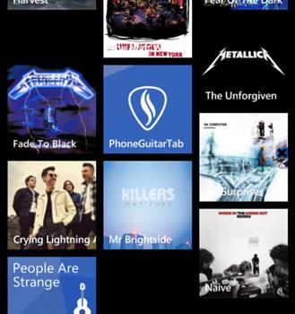 Phone Guitar Tab Ekran Görüntüleri - 5