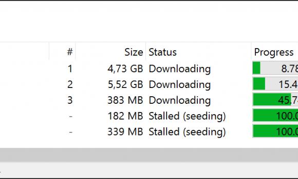 PicoTorrent Ekran Görüntüleri - 1