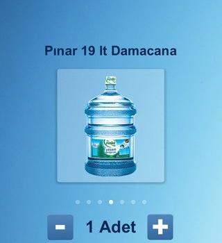 Pınar Su Sipariş Ekran Görüntüleri - 2
