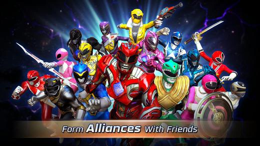 Power Rangers: Legacy Wars Ekran Görüntüleri - 1