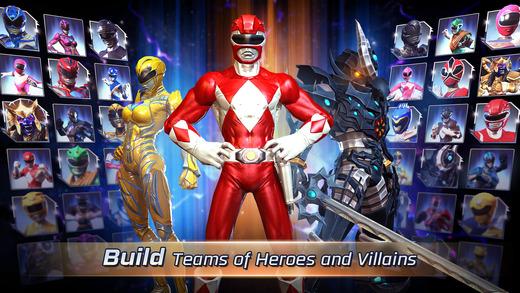 Power Rangers: Legacy Wars Ekran Görüntüleri - 4
