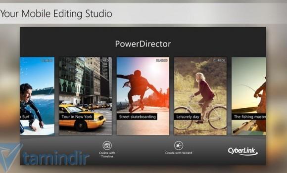 PowerDirector Mobile Ekran Görüntüleri - 2