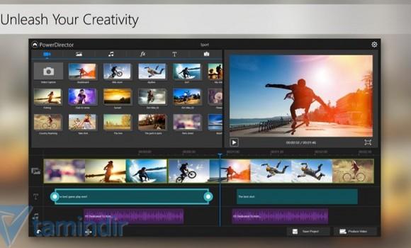 PowerDirector Mobile Ekran Görüntüleri - 1