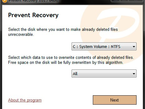 Prevent Recovery Ekran Görüntüleri - 3
