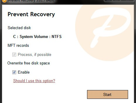 Prevent Recovery Ekran Görüntüleri - 2