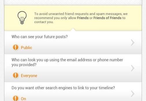 Privacy Scanner for Facebook Ekran Görüntüleri - 5
