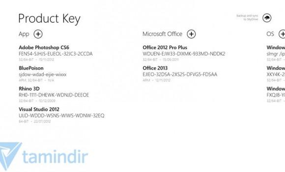 Product Keys Ekran Görüntüleri - 3