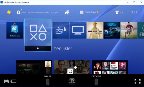 PS4 Remote Play Ekran Görüntüleri - 3