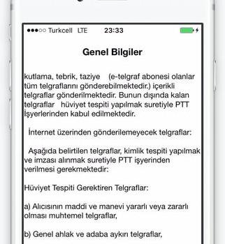 PTT Telgraf Ekran Görüntüleri - 1
