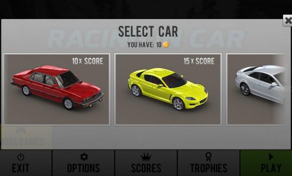 Racing in Car Ekran Görüntüleri - 1