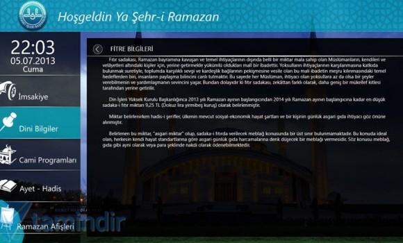 Ramazan (Diyanet İşleri Başkanlığı) Ekran Görüntüleri - 2