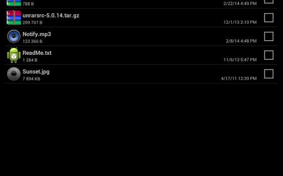 RAR for Android Ekran Görüntüleri - 3
