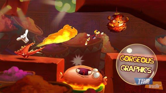 Rayman Fiesta Run Ekran Görüntüleri - 1