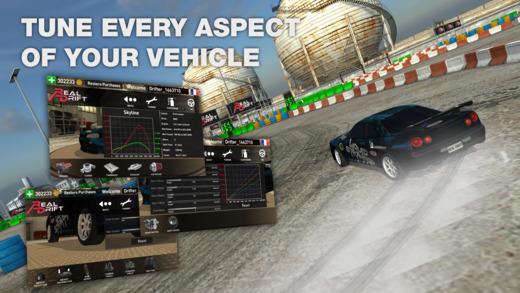Real Drift Car Racing Ekran Görüntüleri - 1