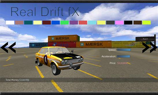 Real Drift fX Ekran Görüntüleri - 2