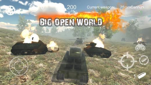 Realistic Battle Tank Ekran Görüntüleri - 3