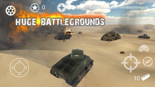 Realistic Battle Tank Ekran Görüntüleri - 1