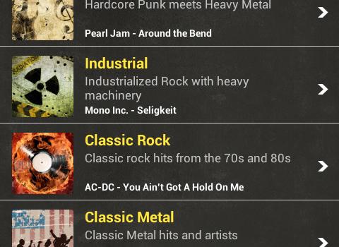 Rock Radio Ekran Görüntüleri - 3