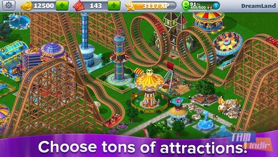 RollerCoaster Tycoon 4 Mobile Ekran Görüntüleri - 1