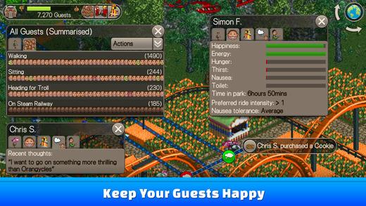 RollerCoaster Tycoon Classic Ekran Görüntüleri - 4